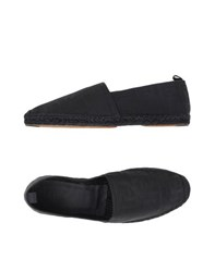 Fendi Footwear Espadrilles Men Black