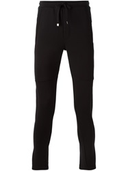 Dolce And Gabbana Skinny Fit Sweatpants Black