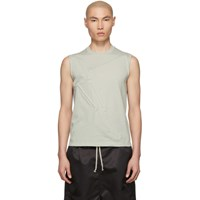 Rick Owens Grey Rod T Shirt