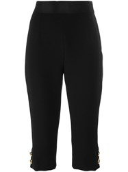 Dolce And Gabbana Capri Trousers Black