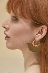 Women's A Peace Treaty 'Gela' Hoop Earrings