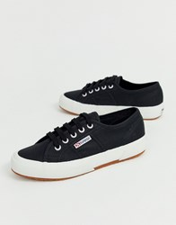 Superga Cotu Classic 2750 Black Canvas Sneakers