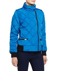 Marc New York Marc Ny Performance Quilted Puffer Moto Jacket W Detachable Sleeves Skydiver