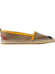 Burberry London Classic Check Espadrilles