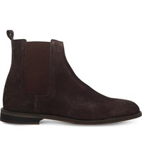 Kg By Kurt Geiger Cole Suede Chelsea Boots Brown