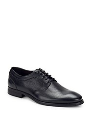 Bacco Bucci Roda Textured Lace Up Dress Shoe Black