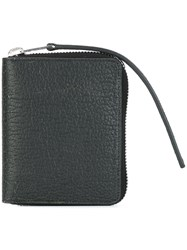 Rick Owens Small Zipped Wallet Black
