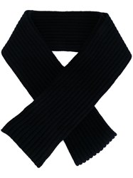 Marni Knitted Scarf Blue