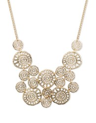 Lonna And Lilly Filigree Statement Necklace Gold