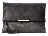 Botkier Irving Clutch Anthracite Clutch Handbags Pewter