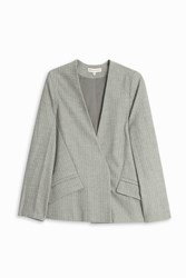 Paul And Joe Sister Pin Stripe Jacket Grey