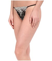 Wacoal Embrace Lace Thong Black Women's Underwear