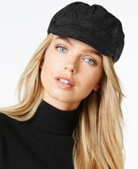 Charter Club Chenille Newsboy Hat Only At Macy's Black