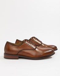Aldo Eloie Lace Up Shoes In Tan Leather