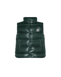 Moncler Tib Quilted Puffer Vest Forest Green
