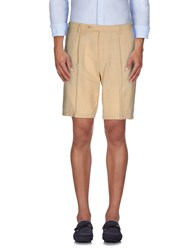 Rotasport Trousers Bermuda Shorts Men Beige