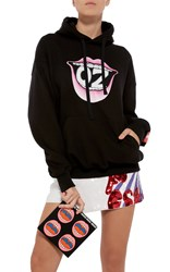 Olympia Le Tan Oz Hoody Black
