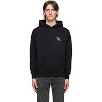 Second Layer Black Caddy Rosary Hoodie