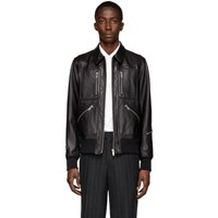 Undercover Black Cindy Sherman Edition Leather Jacket