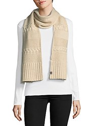 Ugg Knit Cable Scarf Port