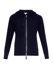 Burberry Woodsford Wool And Cashmere Knit Zip Up Sweater