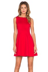 Kate Spade Bow Back Dress Red