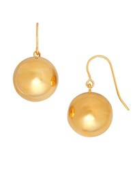 Lord And Taylor 14K Yellow Gold Bead Drop Earrings