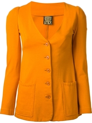 Biba Vintage Short Four Piece Suit Yellow And Orange