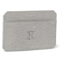 Parabellum Full Grain Leather Cardholder Gray