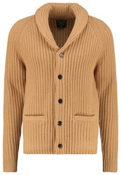 Abercrombie And Fitch Cardigan Camel Beige