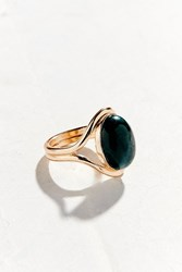 Urban Outfitters Semi Precious Deco Ring Gold