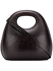Christophe Lemaire Clutch Bag Brown