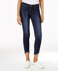 Kut From The Kloth Connie Frayed Hem Benefic Wash Skinny Jeans