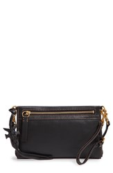 Frye Carson Leather Wristlet Clutch