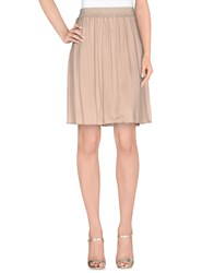 Coast Weber And Ahaus Skirts Knee Length Skirts Women Beige