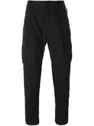 Stone Island Shadow Project Cargo Pants Black