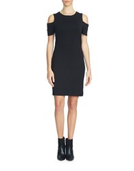 1.State Cold Shoulder Dress Black