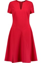 Raoul Paloma Crepe Dress Red