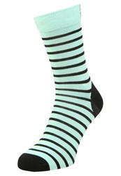 Mons Royale Sports Socks Peppermint Black