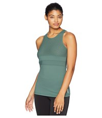 Lorna Jane Ignition Excel Tank Top Military Sleeveless Olive
