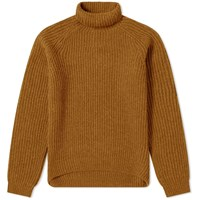 Acne Studios Kally Sporty Wool Rib Knit Yellow