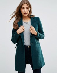 Sugarhill Boutique Layla Textured Coat Green