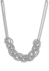 Evenandodd Necklace Silver