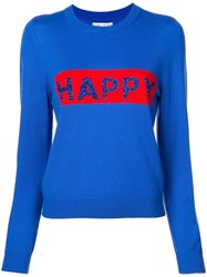 Alice Olivia Chia Jumper Blue