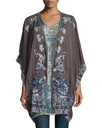 Johnny Was Shakai Embroidered Jacket