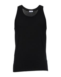 Dolce And Gabbana Underwear Sleeveless Undershirts Black