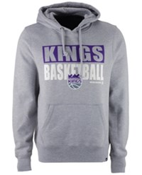 47 Brand '47 Men's Sacramento Kings Knockaround Headline Pullover Hoodie Gray