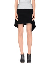 Plein Sud Jeans Skirts Mini Skirts Women Black