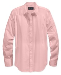 American Rag Men's Long Sleeve White Shirt Only At Macy's Pink Tide