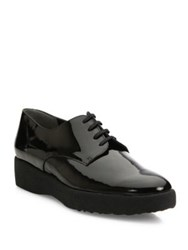 Robert Clergerie Feydol Patent Leather Platform Oxfords Black
